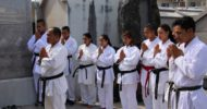 Okinawan Karate history tour on August 17th for Nepal Karate national team members
