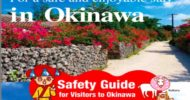 Emergency information guide for a safe and enjoyable stay in Okinawa