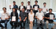 Our company was selected as a startup support project by Okinawan prefecture.