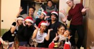 Christmas party of Ageshio Japan at CEO Kenny's house