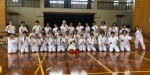 【Report】Karate Trial Experience for a Company Trip of 37 People from Tokyo